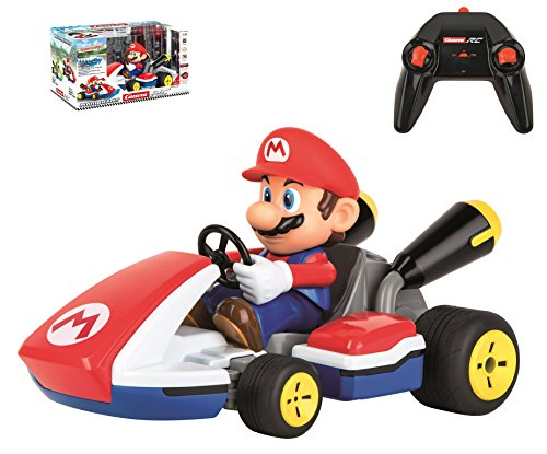 Carrera RC 370162107 - Mario KartTM, Mario - Race Kart mit Sound (Carrera Slot Car Mario)