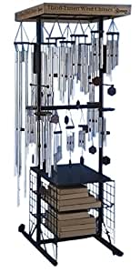 IWGAC 0182DS-66170 82 in. Wind Chime Floor Display