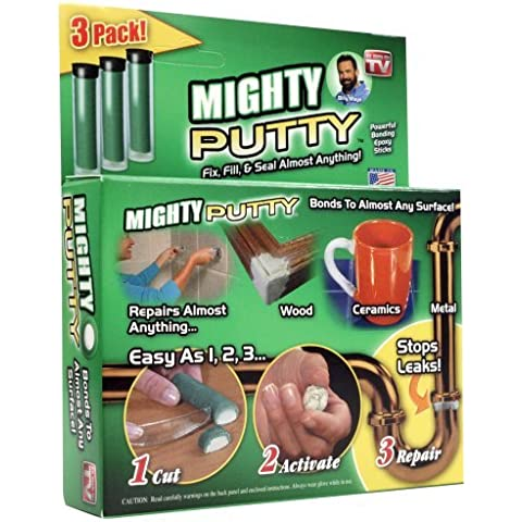 Mighty Putty 80-14190 3 Tubes Bonding Epoxy