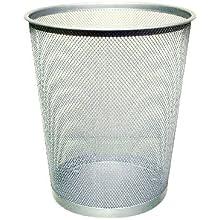 Q-CONNECT KF00849 18 Litre Waste Basket Mesh - Silver