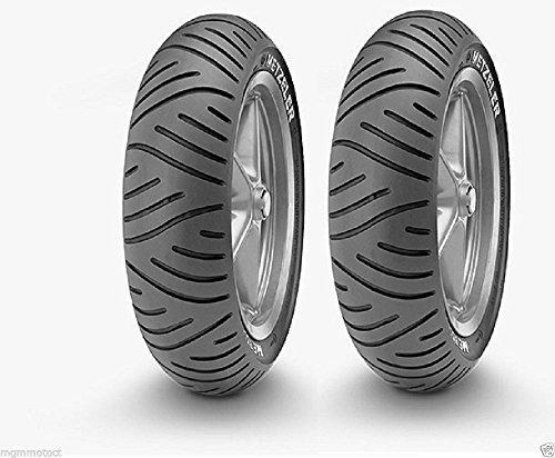 Paar Reifen Reifen Metzeler ME 7Teen Vespa ET2ET450120/7010100/8010