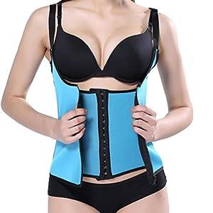 Hansee Sexy Zipper Sweat Sauna Body Shaper Frauen Abnehmen Weste Taille Trainer