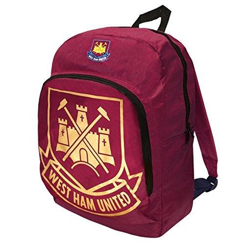 West Ham United FC-Pallone da calcio, alluminio, Crest-Zaino