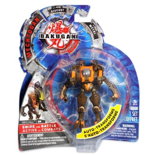 Bakugan Mechtogan Deezall (Colors and Styles May Vary) by Bakugan
