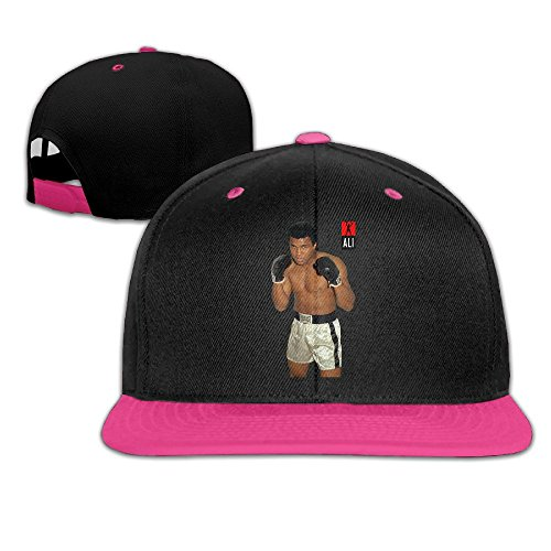 Maneg Muhammad Ali Unisex Hip Hop Baseball Cap & Hat, unisex, rose -