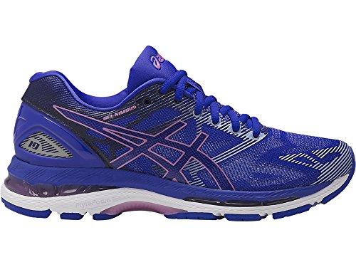 ASICS Women's Gel-Nimbus 19 Running Shoe, Blue Purple/Violet/Airy Blue, 5 Medium US