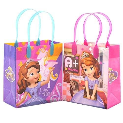 Disney Princess Sofia Party Favor Goody Small Gift Bag (12 Bags) by Disney (Princess Party-goody Bags)