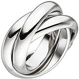 Ring Damen Silber rhodiniert 58 (18.5)