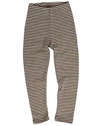 Engel, Legging, lange Unterhose, Wolle Seide, Grösse 92 - 176, 5 Farben (116, Walnuss/Natur) -