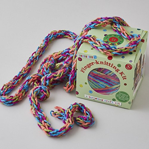 Buttonbag Finger Knitting For Beginners for sale  Delivered anywhere in UK
