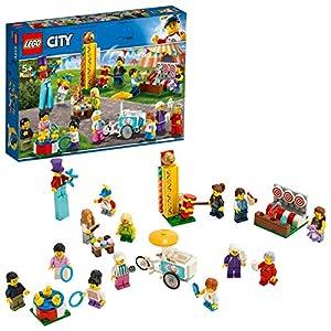 LEGO CityTown PeoplePack-LunaPark, Set da Costruzione con 14 Minifigure, Giocattoli per Bambini dai 5 Anni in su, 60234 5702016370553 LEGO