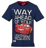 Cars Disney 2 T-Shirt 2017 Kollektion 92 98 104 110 116 122 128 Shirt Kurz Sommer Lightning McQueen Jungen (Blau, 98-104)