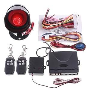 Timetop 1-système de protection d'alarme de voiture avec 2 Télécommande
