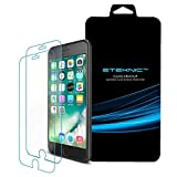 eTEKNIC iPhone 8/7 Screen Protector [2 Pack] [Glass Armour] Premium Tempered Glass Screen Protector Film for Apple iPhone 7/8 [4.7 Inch]