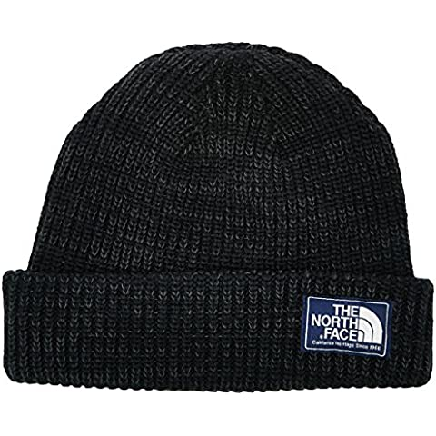 North Face Salty Dog Beanie - Gorro  unisex, color negro, talla OS