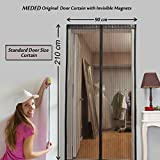 MEDED Magic Magnetic Door Mesh Curtain w...