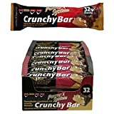 Power System Crunchy Bar - Protein Riegel 21 x 45 g (Peanutbutter)