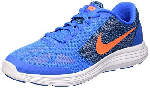 Blue Blau Revolution Orange Laufschuhe 3 blck photo ttl Jungen wht Nike FYgqwCpRF