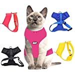 Dexil Luxury Cat Harness Padded and Water Resistant (Pink S-M) 6