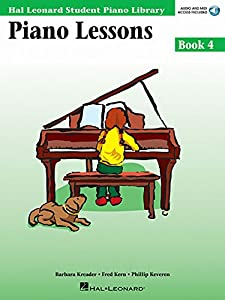 Piano Lessons Book 4: Hal Leonard Student Piano Library