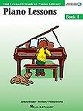 Piano Lessons Book 4: Hal Leonard Student Piano Library