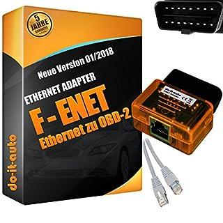 Ethernet RJ45 8PIN zu OBD2 INPA