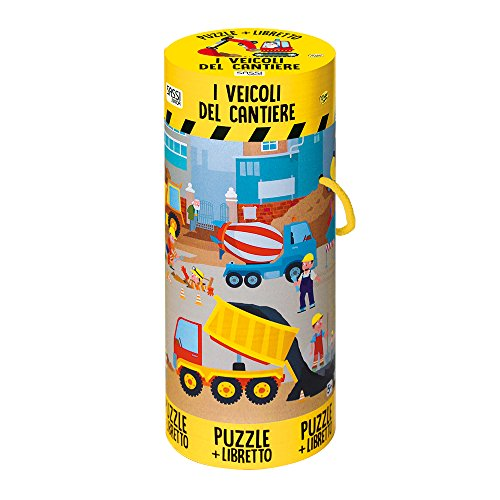 I veicoli del cantiere. Ediz. a colori. Con puzzle