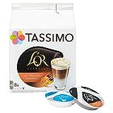 Tassimo LOR L. Macchiato Caramel Coffee (Pack of 5, Total 40 T discs/pods)