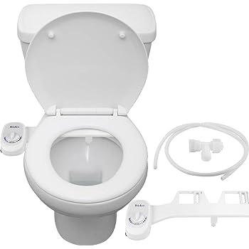 Siege De Toilette Bidet Pulverisateur Autonettoyant Bec Retractable