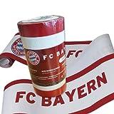 Rasch BORTE FC Bayern Tapete - Borte mit Schriftzug passend zur Tapete