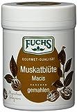 Fuchs Muskatblüte gemahlen Muskat-Gewürz Macis, perfekt als Glühwein- und Kuchengewürz, in praktischer Gewürzdose, Menge: 3 Stück