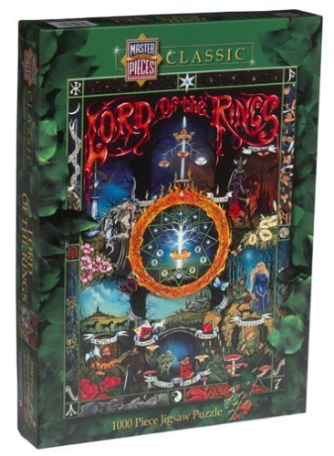 Lord of the Rings Jigsaw Puzzle 1000pc by Master Pieces