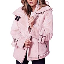 FRAUIT Damen Winter Wollmantel WarmJacke Frauen Parka Jacke Outwear Damen  Mantel Oberbekleidung Freizeit Reisen Festival Party 497d040b39