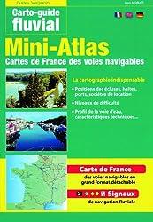 Mini-atlas des voies navigables de France : Edition français-anglais-allemand