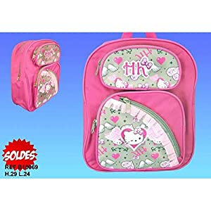 Hello Kitty Mochila Kinder Angel Sanrio