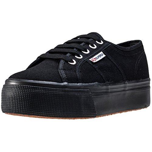 Superga 2790 Acotw Linea Up and Down Full Black, Größe:40 (5 Tennis Womens Größe Schuhe)
