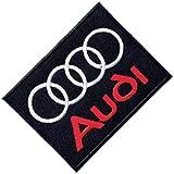 Parche para coser o planchar con logotipo de Audi