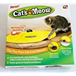 Undercover Mouse, 4 Speed Electronic Cat's Meow Cat Exercise Toy, Replacement Spare Wand and Nylon Skirt for Cat's Meow… 9