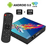 A95X R3 Android 9.0 TV BOX with RK3318 Quad-core Cortex-A53 Penta-Core Mali-450 GPU 2GB DDR 16GB EMMC 2.4GHz/5GHz Dual Band WiFi 4K Ultra HD HDMI 2.0 H.265 Bluetooth 4.2 Video Decoder