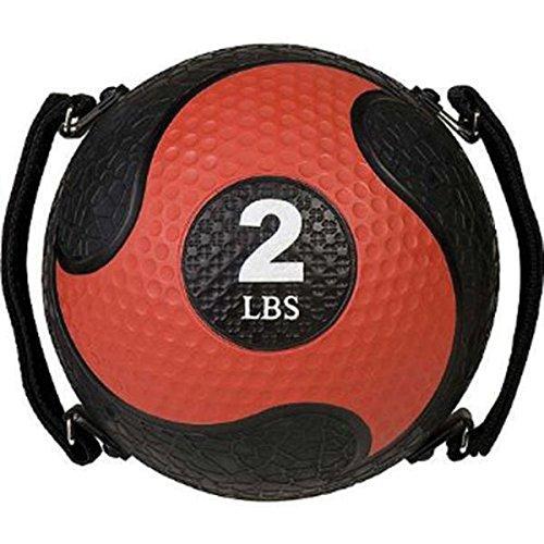 Champion Sports Rhino Ultra Grip Medizinball, gelb -