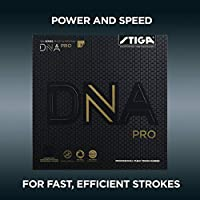 STIGA DNA Pro H, Negro, 2.1 Table Tennis Rubber, Unisex-Adult, One Size