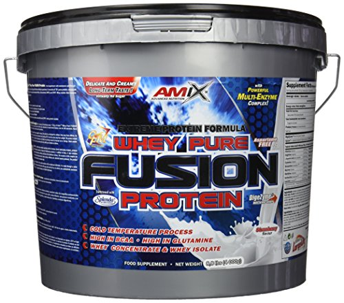 Amix Whey Pure Fusion Proteínas - 4000 gr_8594159532908