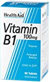 HealthAid Vitamin B1 (Thiamin) 100mg - Prolong Release - 90 Tablets