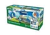 Brio GmbH BRIO World 33918 - Smart Tech Eisenbahn-Werkstatt Spielset Holzeisenbahn