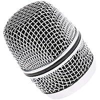 SM SunniMix 1 Pc Cabeza de Parrilla de Micrófono Rejilla de Mic Inalámbrico Regalo Único para Hombres,Mujeres, Guitarristas