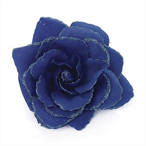 large-royal-blue-glitter-edge-rose-flower-hair-elastic-band-and-beak-clip-fascinator