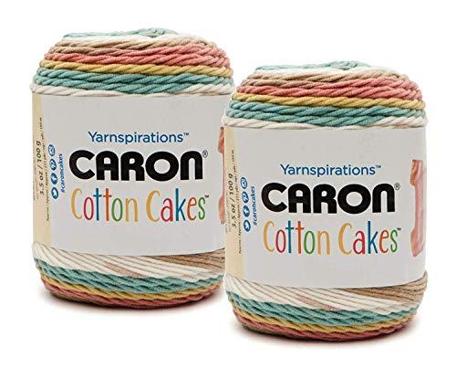 Caron Cotton Cakes, Boho Floral, 16 x 15 x 18 cm -