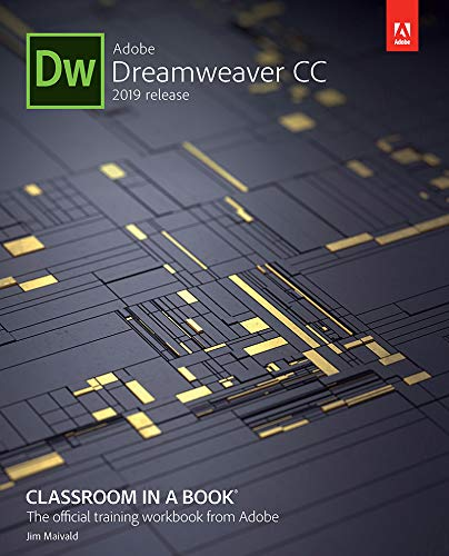 Adobe Dreamweaver CC Classroom in a Book (2019 Release) (English Edition)