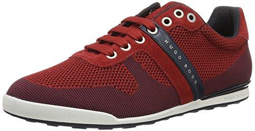 Boss Green Arkansas, Sneakers Basses Homme Rouge (Dark Red 601)
