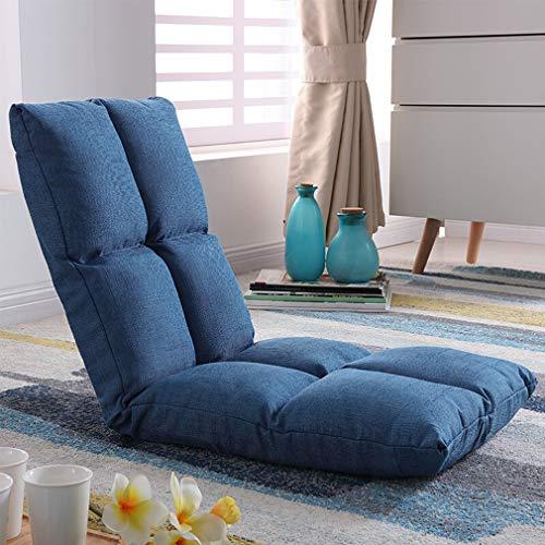 Verstellbarer Bodenstuhl Boden-Stuhl-Sofa-Bett, Justierbarer Faltbarer Sofa-Lager-weicher Matratzen-Sitz-Stuhl Für das Lesen des Büro-zusehenden Fernsehsofas für Zuhause Oder Büro (Lager-sofa)